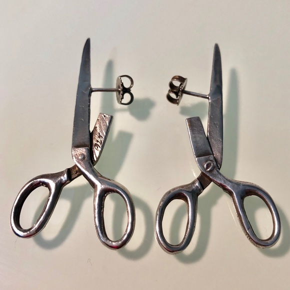 440d8dcc4 The Eden Collective Jewelry | 925 Solid Sterling Silver Scissor ...